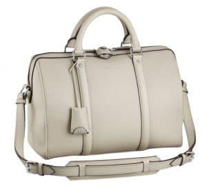 Louis Vuitton Blanc SC PM Veau Cachemire Bag