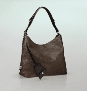 Louis Vuitton Chocolate Monogram Antheia Leather Hobo PM Bag