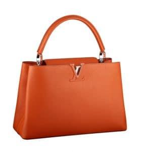 Louis Vuitton Clementine Capucines MM Bag