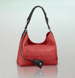 Louis Vuitton Corail Monogram Antheia Leather Hobo PM Bag