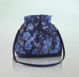 Louis Vuitton Grand Bleu Monogram Nylon Ikat Noefull MM Bag