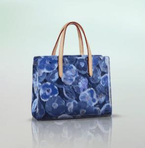 Louis Vuitton Grand Bleu Monogram Vernis Ikat Catalina BB Bag