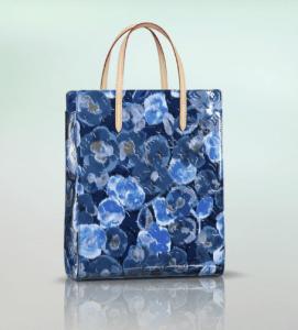 Louis Vuitton Grand Bleu Monogram Vernis Ikat Catalina NS Bag
