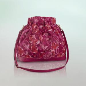 Louis Vuitton Grand Indian Rose Monogram Nylon Ikat Noefull MM Bag