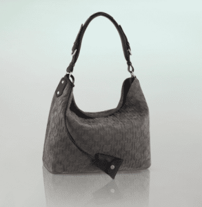 Louis Vuitton Granit Monogram Antheia Suede Hobo PM Bag