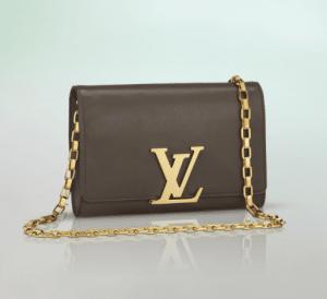 Louis Vuitton Gris Chain Louise Bag