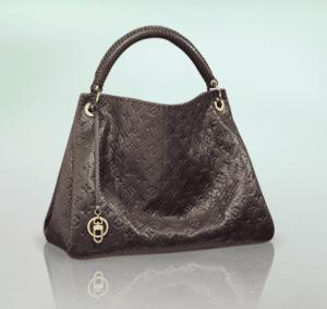 Louis Vuitton Gris Python Artsy MM Bag