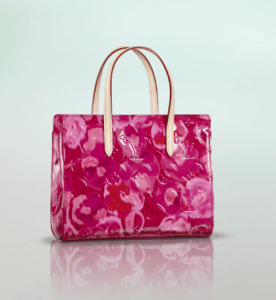 Louis Vuitton Indian Rose Monogram Vernis Ikat Catalina BB Bag