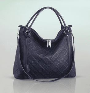 Louis Vuitton Indigo Monogram Antheia Leather Ixia MM Bag