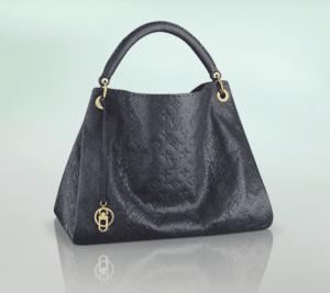 Louis Vuitton Marine Python Artsy MM Bag