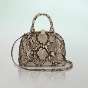 Louis Vuitton Naturel Python Alma BB Bag