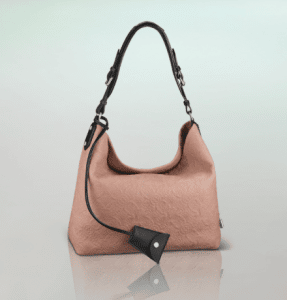 Louis Vuitton Pink Monogram Antheia Leather Hobo PM Bag