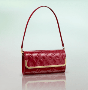 Louis Vuitton Pomme D'Amour Monogram Vernis Rossmore PM Bag