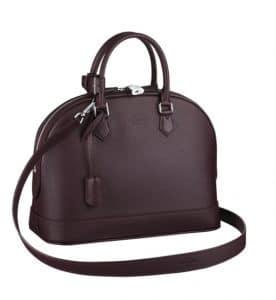 Louis Vuitton Quetsche Alma PM Taurillon Bag
