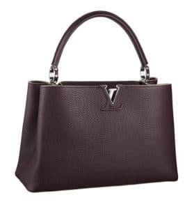 Louis Vuitton Quetsche Capucines MM Bag