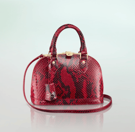5af18cc1be9c Louis Vuitton Python Bag Reference Guide