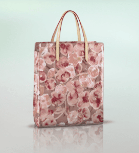 Louis Vuitton Suede Rose Monogram Vernis Ikat Catalina NS Bag