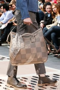 Louis Vuitton Taupe Oversized Tote Bag