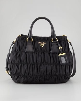 Prada Nylon Gaufre Shoulder Bag 49
