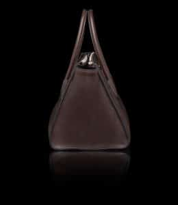 Prada Brown Glace Calfskin Twin Pocket Tote Bag 2