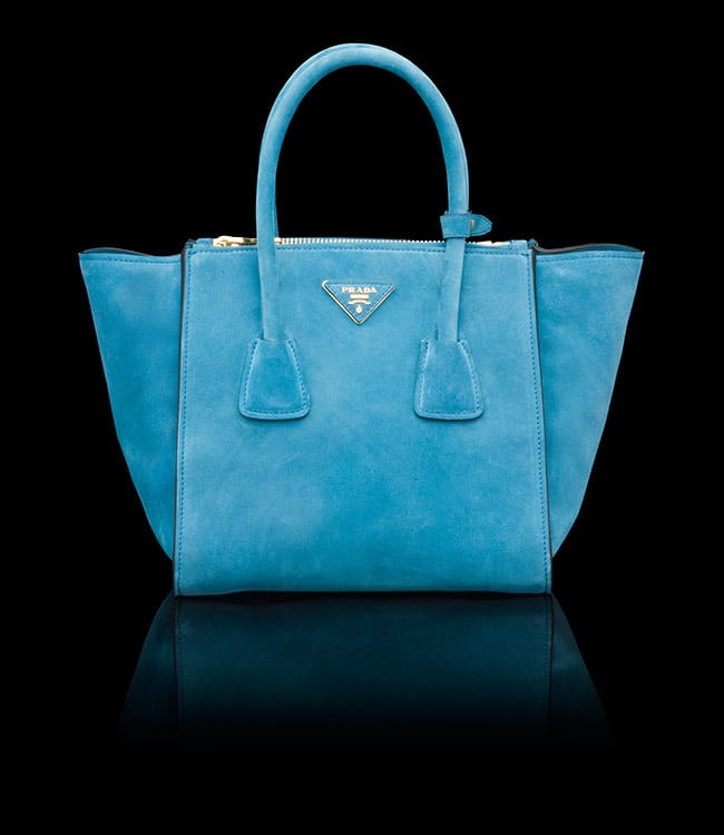 Prada Twin Pocket Tote Bag Reference Guide | Spotted Fashion