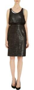 Proenza Schouler Metallic Skirt Sequin Top Dress - $1,750.00 (USD)