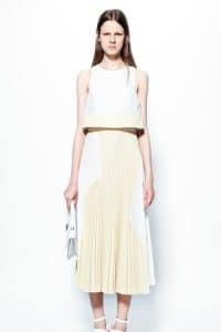 Proenza Schouler White Flap Bag 1 - Resort 2014