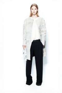 Proenza Schouler White Flap Bag 2 - Resort 2014