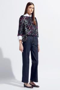 Valentino Black/Pink Leopart Print Flap Bag - Resort 2014