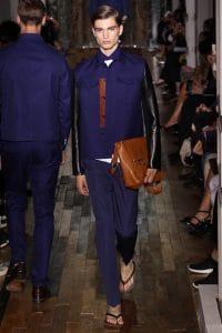 Valentino Brown Messenger Bag - Spring 2014