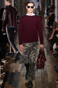 Valentino Burgundy Bag - Spring 2014