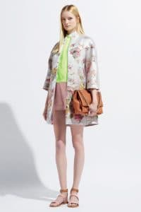 Valentino Camel Flap Bag with Chain - Resort 2014