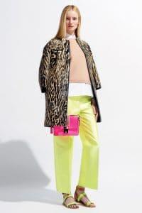Valentino Pink Flap Bag - Resort 2014