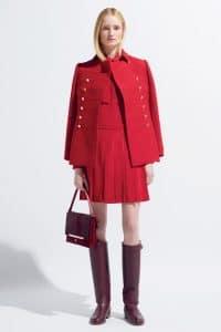 Valentino Red Flap Bag - Resort 2014