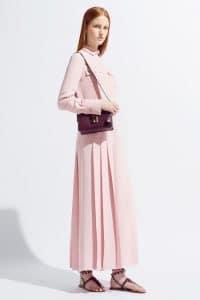 Valentino Violet Flap Bag - Resort 2014