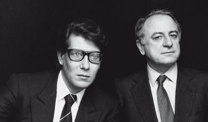 Pierre berg to commemorate yves saint laurent in a for Miroir yves saint laurent