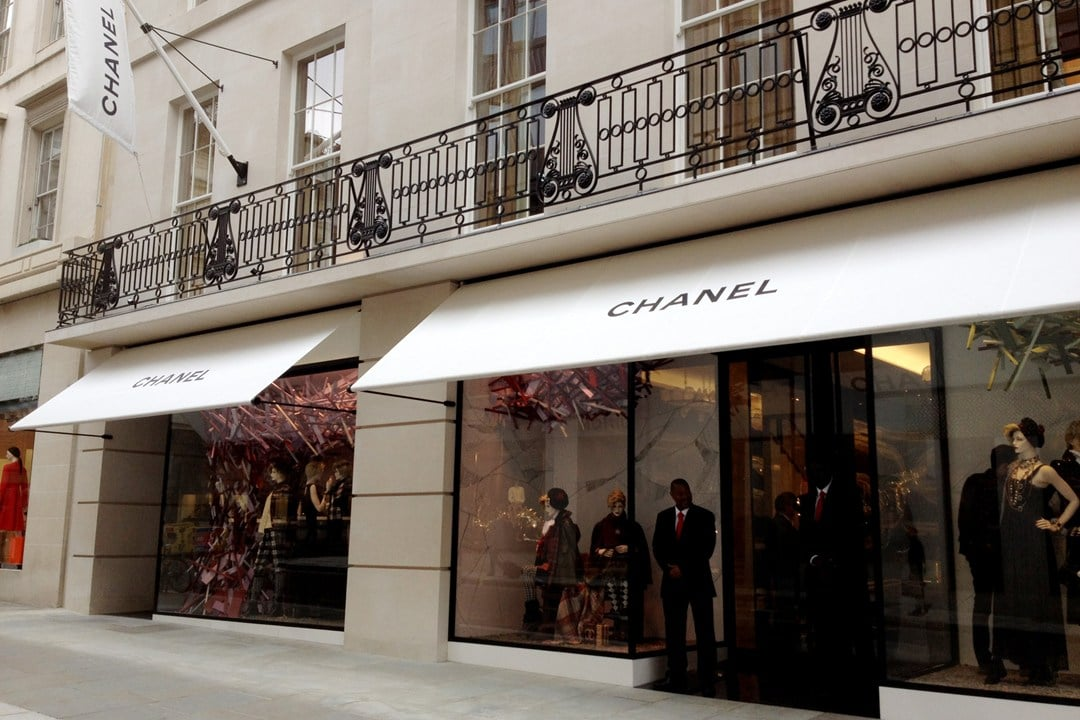 Chanel Opens Largest Flagship Store In London On Bond
