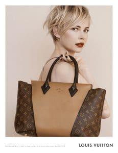 Michelle Williams in Louis Vuitton Ad Campaign