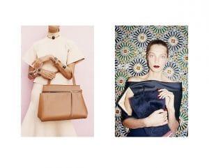 Celine Fall 2013 Ad Campaign with Edge Bag