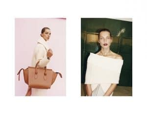 Celine Fall 2013 Ad Campaign with Tie Bag