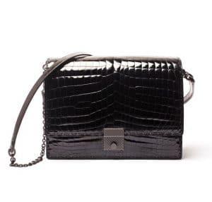 Bottega Veneta Nero Crocodile Bag - Fall 2013