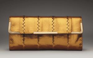 Bottega Veneta Oro Bruciato Ayers Clutch Bag - Fall 2013