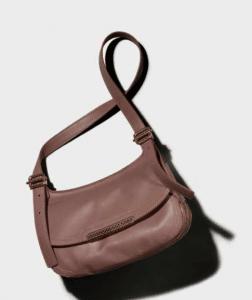 Bottega Veneta Watteau Waxed Leather Gold Metal Bag