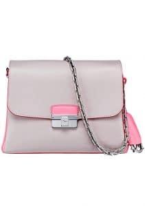 Dior Grey/Pink Diorling Small Bag