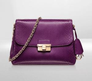 Dior Purple Python Diorling Small Bag