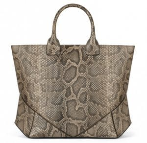 Givenchy Beige and Taupe Python Easy Bag