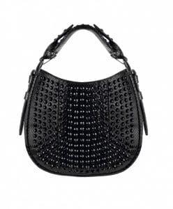 Givenchy Black Ayers With Swarovski Crystals Obsedia Mini Bag
