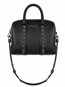 Givenchy Black With Chains Lucrezia Small Bag