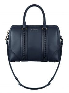 Givenchy Deep Blue with Woven Details Lucrezia Medium Bag