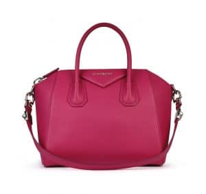 Givenchy Fuschia Antigona Small Bag